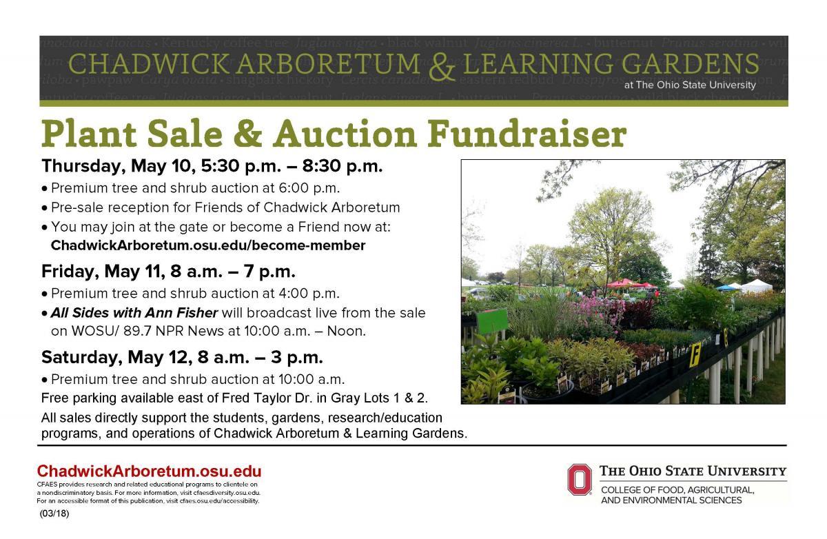Plant Sale & Auction Fundraiser