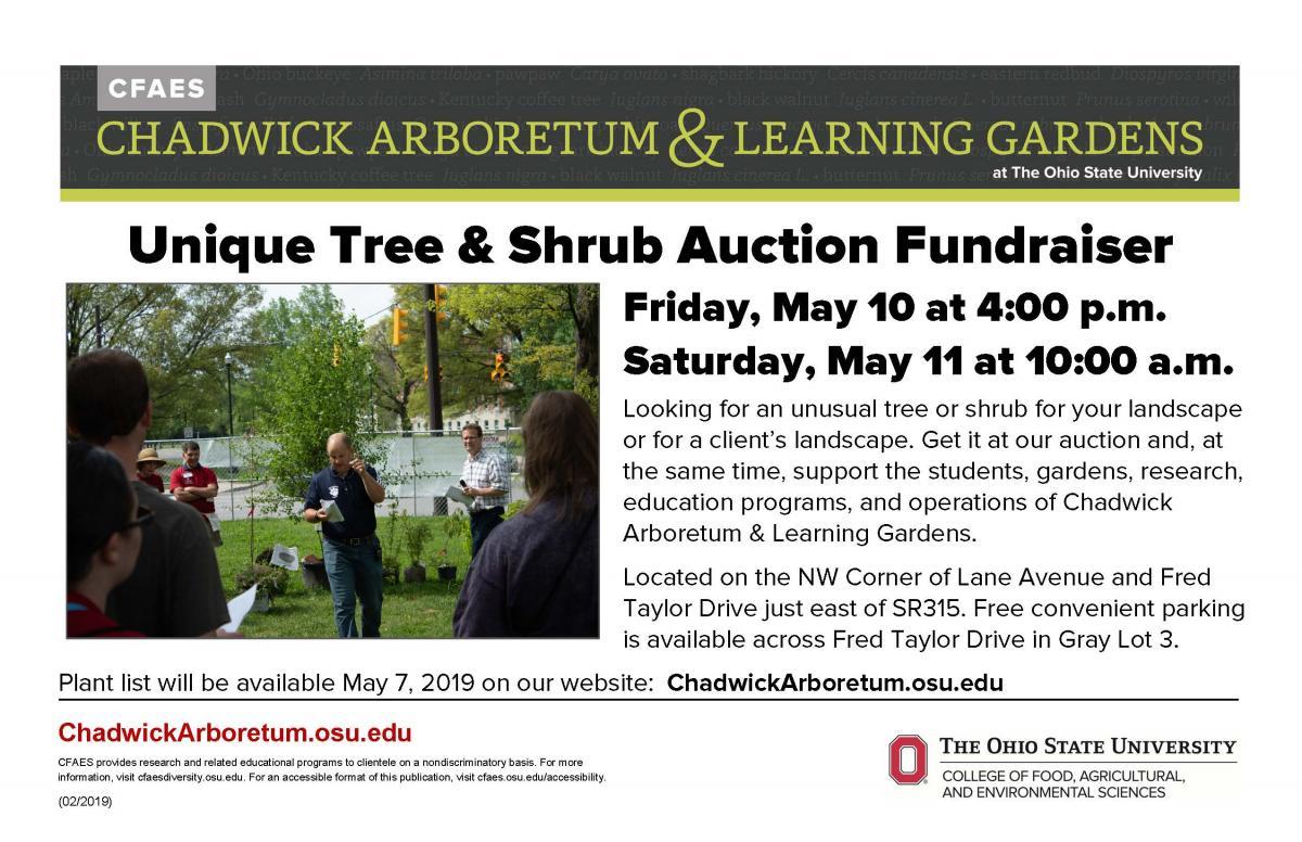 2019 Unique Tree & Shrub Auction