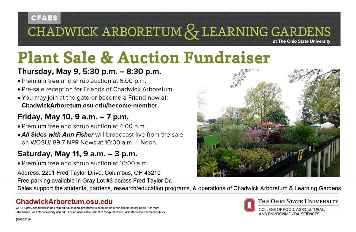 2019 Plant Sale & Auction Fundraiser