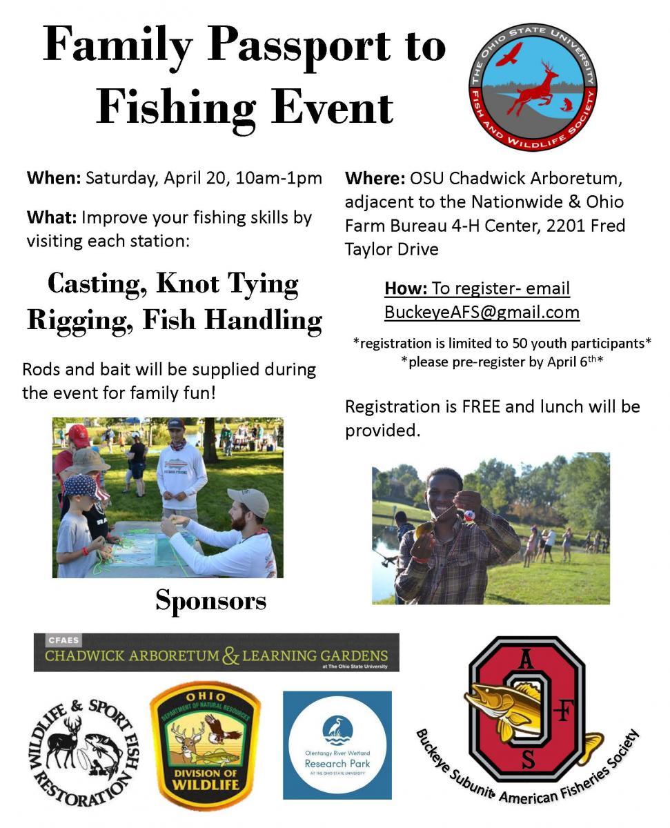Family Passport to Fishing Event