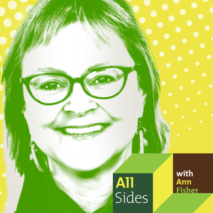 "Ann Fisher of  ""All Sides with Ann Fisher,"" on WOSU 89.7 FM"