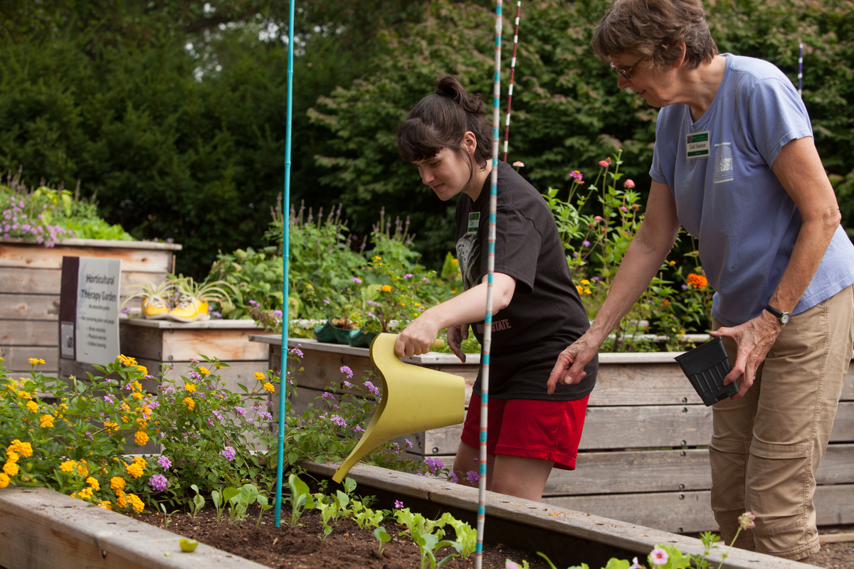 Garden state physical therapy - Horticultural Therapy Garden The