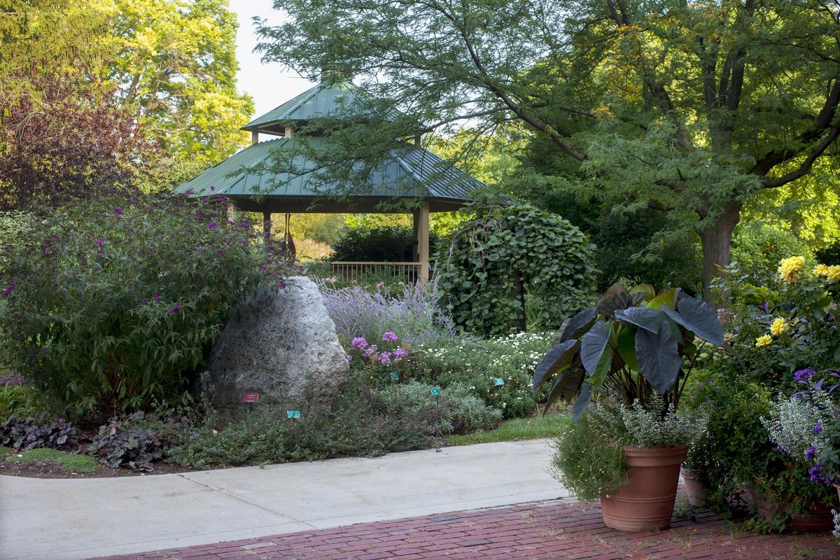 Gazebo Garden. The ...