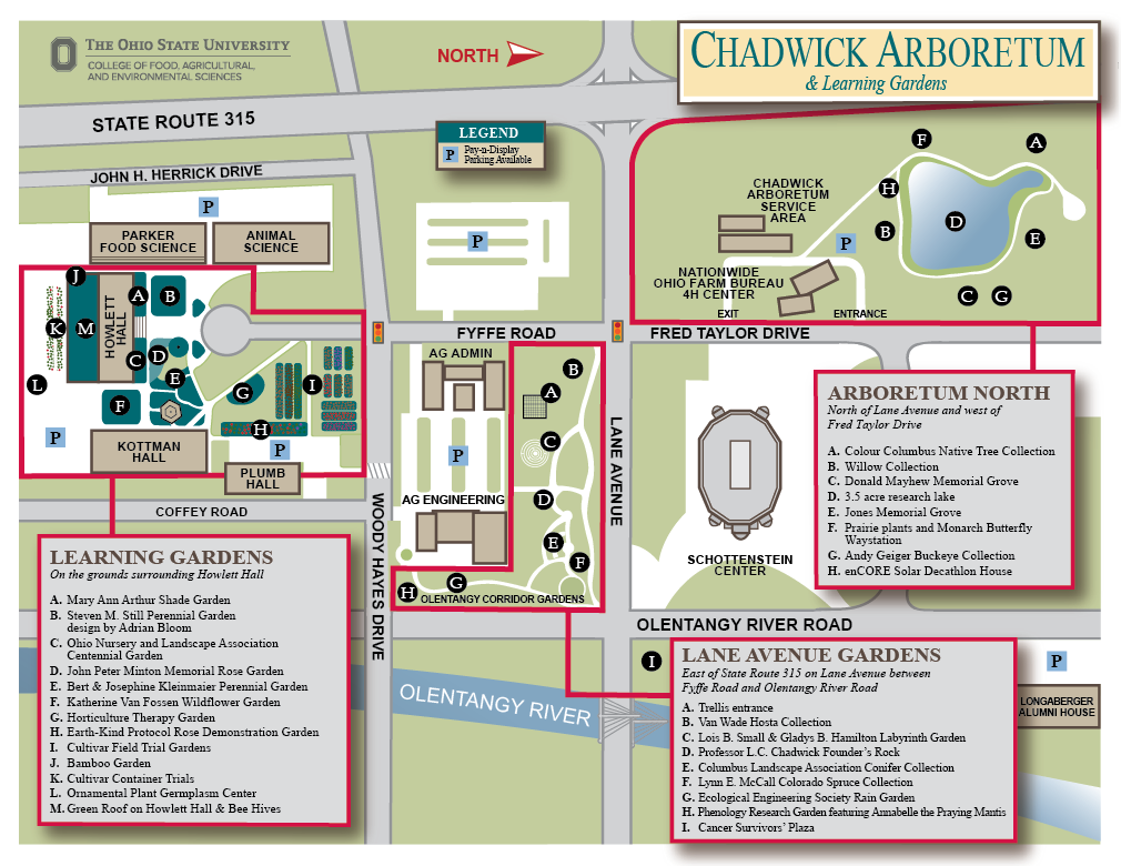 Interactive Map | Chadwick Arboretum & Learning Gardens