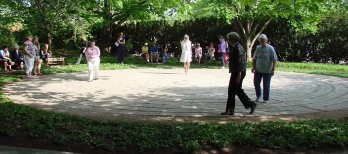 Chadwick Arboretum Lane Avenue Labyrinth Garden